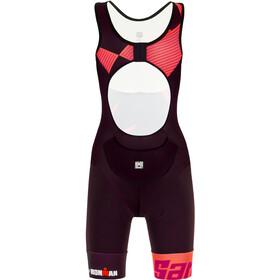 Santini Cupio Kombinezon triathlonowy bez rękawów Kobiety, czerwony